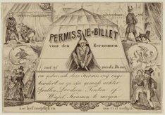 Permissie-Billet voor den Eerzamen