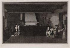 Wachtlokaal van de Schutterij in de Westerhal op de Westermarkt