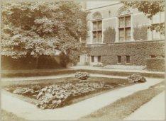 De tuin aan de achterzijde van het Rijksmuseum, Stadhouderskade 42