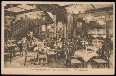 Interieur van Café Restaurant Winkels Kalverstraat 11-13. Uitgave S. Sealtiël, A…