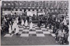 Levend schaakspel