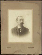 Portretfoto van Zeger Daniël Johan Wilhelm Gulden
