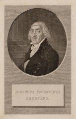 Portret van Koopman, kunstverzamelaar en filantroop Josephus Augustinus Brentano…