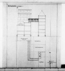 Verbouwing van het pakhuis De Ster en het overdekken van de tuin van de Prinseng…