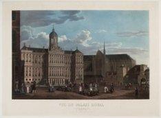 Vue du Palais Royal à Amsterdam