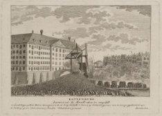 Kattenburg veroverd te Amstm., den 30 mey 1787
