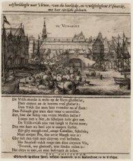 De Vismarckt, Afbeeldinghe naer 't leven, van die heerlijcke, en velgheleghene V…
