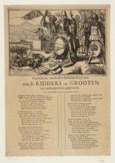 Nieuw Liedt, van de drie-dubbele Kruyfvaert van de Ridders en Grooten uyt uythan…