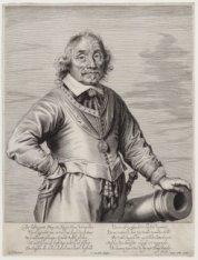 Portret van Luitenant-admiraal van Holland Maarten Harpertsz Tromp (1598-1653)