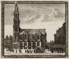 De Westerkerk is begonnen Ao.1620 en de eerste Predicatie daer in gedaen op Pinx…