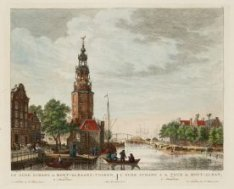 De Oude Schans en Mont-Albaans-Tooren, te Amsterdam