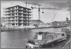 Nieuwbouw langs de Alexanderkade op het terrein van de voormalige Oranje-Nassauk…