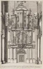La representation de la belle Orgue de l''Eglise du Wester Kerk a Amsterdam