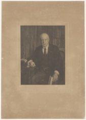 Portret van Charles Miseroy, notaris te Amsterdam van 1896 tot 1922