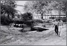 Beatrixpark. De kaalslag rondom het RAI Congrescentrum moet hersteld worden