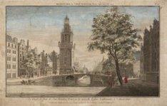 Le Cingle, la Tour de Jan-Rooden-Poort, et la nouvelle Eglise Lutherienne, à Ams…