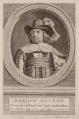 Portret van Roelof Bicker (1611-1656), Schepen en Raad der Stad van Amsterdam