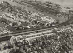Luchtfoto Haarlemmerbuurt
