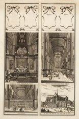Grafsteede vande Admiraal de Ruiter, De Kerk van Binnen naa 't Orgel te Zien, He…