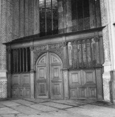 Dam 12, Nieuwe Kerk, interieur Noorderportaal
