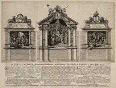 De Vertooningen, gedaan binnen Amsterdam, op de Eeuwige Vreede, en Vryheit