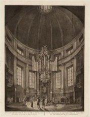 De Luthersche Nieuwe-Kerk, van binnen te zien, te Amsterdam - Vue interieure de …