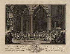 't Genootschap Pro Patria zoals het zig vertoonde in de Nieuwe Kerk te Amsterdam…