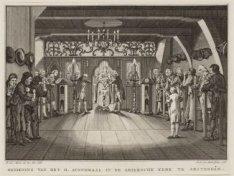 Bediening van het H. Avondmaal in de Grieksche Kerk te Amsterdam