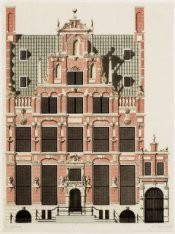 Huis met de hoofden, Keizersgracht 123, ontworpen door Hendrick de Keyser of doo…