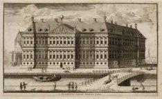 't Stadhuis: aande Achterzyde