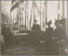 Doopceremonie van het vrachtpassagiersschip Barendsz