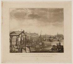 Vue du Buitenkant le long de l'Y et du Quai de Marie Louise, later de Prins Hend…