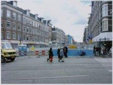 Ferdinand Bolstraat 59-ca. 147 (links, v.l.n.r.) met werkzaamheden i.v.m. aanleg…