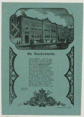 De Nachtwacht. Amsterdam, 1 Januarij 1870