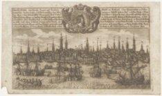 Amsterdam, eine Reiche haupt und handels Stadt in Holland