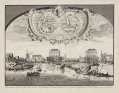 Representation des Deux Forts batis en 1650 [...] (Afbeelding vande twee Blokhui…