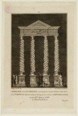 Afbeelding der Illuminatie voor het Huis van de WelEd.Gestr. Heer J.F. D'Orville…