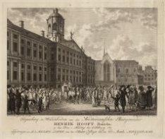 Bekende onderhandelingen van Burgemeester Hendrik Hooft de zoon met de burgerij
