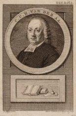Portret van Ch. C. H. (Cornelis) van der Aa (1718-1793), luthers predikant te Ha…