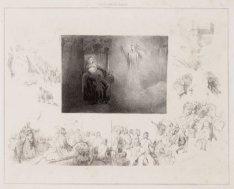 """Gijsbrecht van Aemstel, illustratie (7) van Vondels """"Gijsbrecht van Aemstel"""". Te…"""