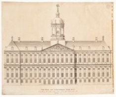Voor-Gevel van 't Amsterdams Stadt huys