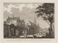 ''t Reguliers-Klooster, Zoo als het zig in Welstant vertoonde in den Jaare 1502,…