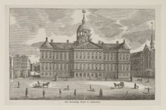 Het Koninklijk Paleis te Amsterdam