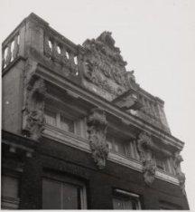 De geveltop, Keizersgracht 77