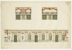 Ontwerp voor de feestdecoratie van de kerkzaal van het Diaconie Oude Mannen- en …