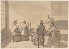 25 april Cloveniers Burgwal over 't oudemannenhuis