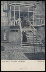 Prinsengracht 439 met de tuinzijde van het tehuis voor vrouwen