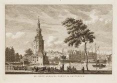 De Mont-Albaans Toren te Amsterdam