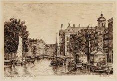 Nieuwezijds Voorburgwal 147-231 met op nummer 147 het Koninklijk Paleis