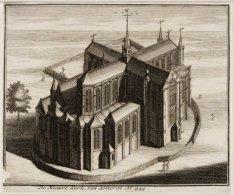 De Nieuwe Kerk, van achteren Ao.1544